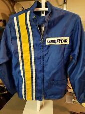 New listing Vintage Goodyear Racing Jacket Coat Collectible Windbreaker Unknown Size/Year