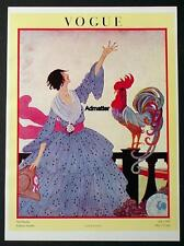 VOGUE FASHION MAGAZINE COVER POSTER 1918 VIVE LA FRANCE! H DRYDEN ART DECO PRINT