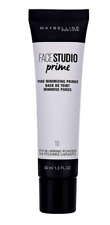MAYBELLINE FACE STUDIO PORE MINIMIZING PRIMER NEW