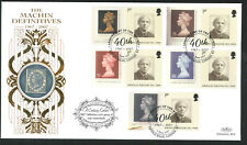 2007 Machin Ann.Set of 4 FDC - Arnold Rd,E3 Pmk - 22 Carat Gold Border Post Free