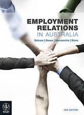 Employment Relations in Australia by Nikola Balnave (Paperback, 2009)