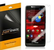3X Clear LCD Screen Protector Cover for Motorola Droid Razr M XT907