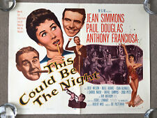 This Could Be The Night (1957) Original US Half Sheet Cinema Poster