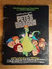 Pete The Dragon Walt Disney Easy Piano Solo Brimhall Rooney Hansen Book 1977