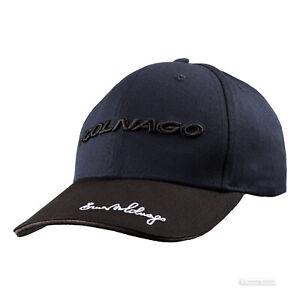 Colnago Cotton Podium Cap : BLUE/BLACK