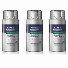 LOT DE 3 HS800 PHILIPS NIVEA FOR MEN creme rasage hydratante Natural MICRO tec
