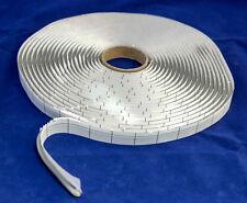 Butylschnur Butylband Dichtband Butylrundschnur - Ø8mm x 6m - grau