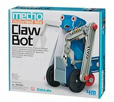 Mecho Motorized Clawbot kit by 4M Kidzlabs