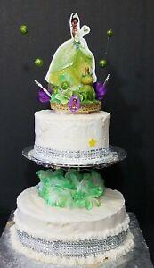 Princess Tiana INSPIRED princess Disney princess and the Frog Tiana Cake topper