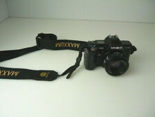 Vintage Minolta Maxxum 7000 AF With Maxxum AF50/1.7 Lens