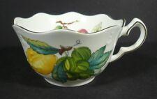 Aynsley Georgian Fruit Bone China Scalloped Edge Tea Cup Hand Made in England