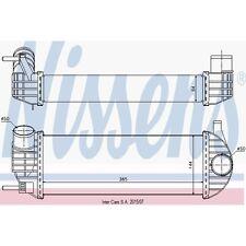 Ladeluftkühler NISSENS 96572