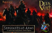 Sergeants in armi-DEUS VULT-FireForge Games - 28mm