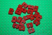 Lego 20x Lochbalken Liftarme Technic brick Technik konvolut dunkelrot