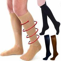 Unisex Compression Socks Stockings Pain Relief Calf Leg Support Socks 15-20 mmhg