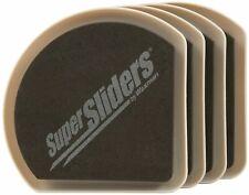 Waxman Consumer Group 4734195N 5 inch Hide & Slide Furniture Sliders 4 Count