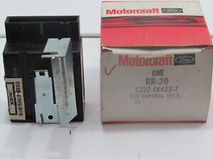 Ford Motorcraft RR-20 Radiator Fan Relay Control Module 1984-1987 Tempo Topaz