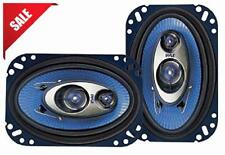 "Pair Car Stereo Speakers System 4"" X 6"" Full Loud Range Auto Truck Audio 240 Wat"