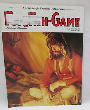 Fur Fish Game Magazine July 1993 Doves Over Decoys - Pigeon Trapline