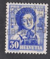 SUISSE-   N°:301-  USED   CV : 24 €   YEAR 1936