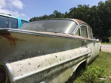 1960 chevy bel air 4DR chrome body and door trim 69 1/2, 33 1/2 , 14 inches long