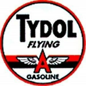 Tydol Flying A  Round Metal Sign 300mm x 300mm   (sf)