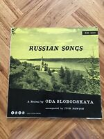 "RECITAL OF RUSSIAN SONGS ODA SLOBODSKAYA SAGA XID 5050 12"" VINYL LP"