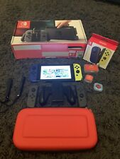 Nintendo Switch Unpatched Cfw Rare hackable 512gb SD 2016 Console With Extras