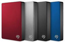 "Seagate Backup Plus Portable 4TB USB 3.0 2.5"" External HDD Black/Silver/Blue/Red"