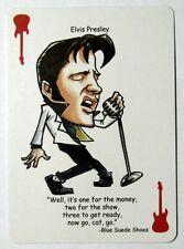 Elvis Presley Single Swap Playing Card Joker - 1 card