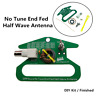 No Tune End Fed Half Wave Antenna DIY 50 ohms Kit / Finished 100mmx71mm Portable