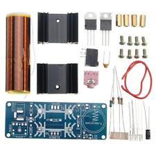 Mini Tesla Coil Plasma Electric Arc Electronic DIY Kit Music Play 15-24V/2A 15W