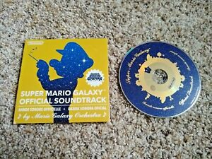 Super Mario Galaxy Official Soundtrack Music CD Good Condition Tested and Works!