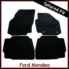 FORD MONDEO Mk4 2007-2014 Tailored Carpet Car Floor Mats BLACK