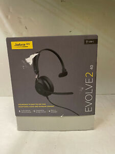 JABRA EVOLVE2 40 WIRELESS HEADSET WITH CHARGING STAND
