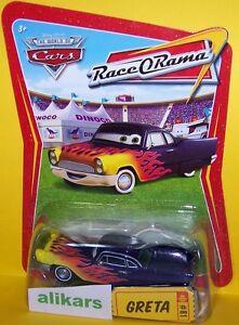 GRETA Giocattolo Mattel Cars 1:55 Disney Pixar Autos Modellini Metallo Diecast