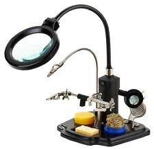 Duratool - D03169 - Led Magnifying Lamp With Third Hand