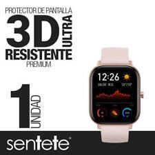 """Sentete® 1x Xiaomi Amazfit GTS """"3D CURVO"""" Protector Pantalla ULTRA RESISTENTE"""