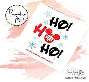 Disneyworld Card. Disneyland Gift Reveal. Disney Surprise. Surprise Holiday Trip