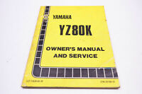 OEM Yamaha LIT-11626-03-79 Owner's Service Manual YZ80K