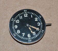 Waltham Premier 16 Jewel Military Wrist Watch Movement Black Dial 1942
