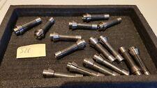 S23 SCHAUBLIN lot de 15 pinces poussées neuves F10ref 76-865 (109 E)