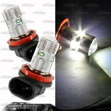 1xPair H11 25Watt 5 LED White Projector Bulbs For Nissan Scion Toyota VW Pontiac
