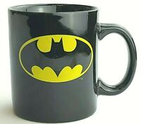 Batman Coffee Cup Mug TM & DC Comics Black Ceramic