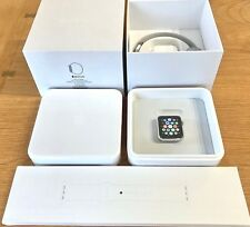 Near Mint Apple Watch 42mm Stainless Steel New Apple Original White Sport Band