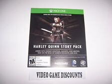 Batman Arkham Knight DLC Code Harley Quinn Story Xbox One 1  VALID & NOT EXPIRED