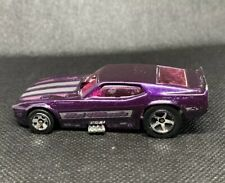 1977 Hotwheels '71 Ford Mustang Drag Funny Car Purple - 1:64 Scale Vintage