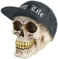 New Thug Life Skull Head Gothic Figure Ornament Art Gifts Figurine Decor