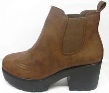 Chaussures moyens à enfiler en cuir pour fille de 2 à 16 ans