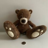 Big Foot Teddy Bear Soft Toy Plush Excellent Condition!